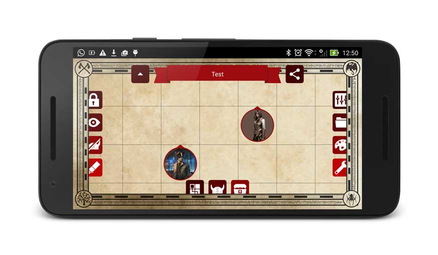Rpg Map Smartphone Android App